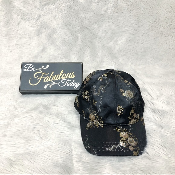 Time and Tru Accessories - Time and Tru Women's Baseball Hat Embroidery